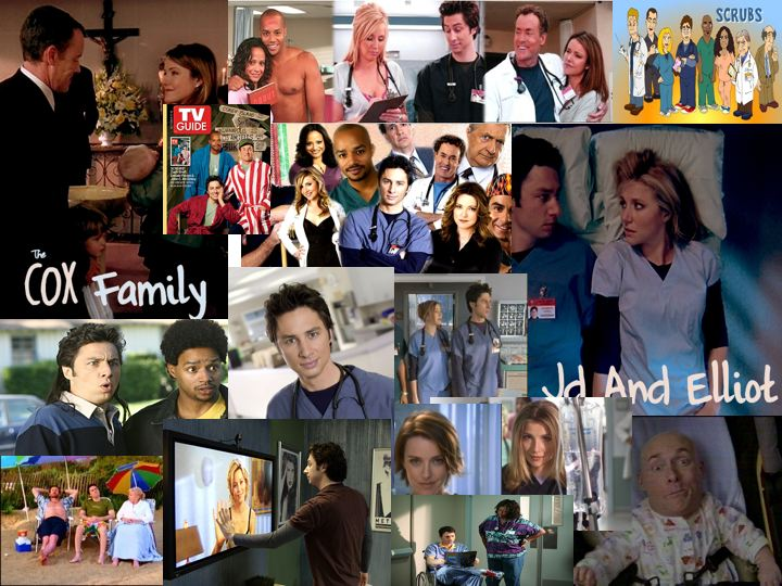 Scrubs Collage Scrubs Fan