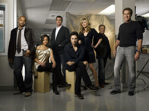 Sarah Chalke wallpaper containing a business suit, a well dressed person, and a suit called Scrubs