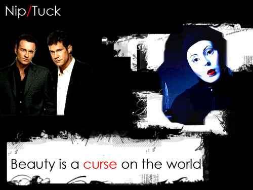 Nip/Tuck wallpaper containing a business suit titled Sean, Christian, The Carver