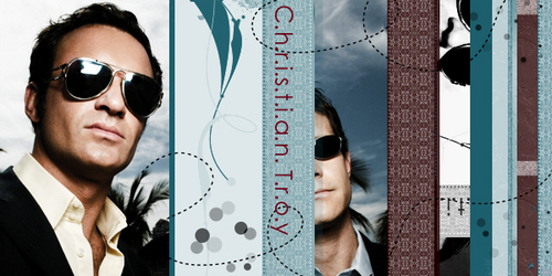 Nip/Tuck wallpaper containing sunglasses entitled Sean & Christian