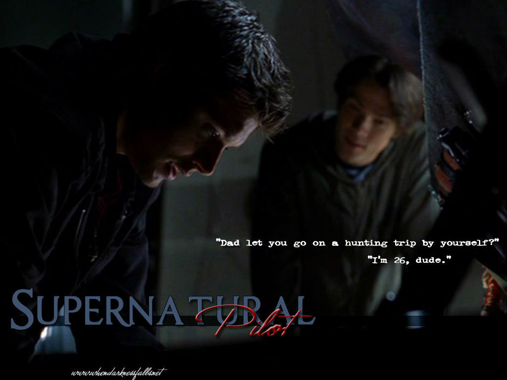 Season Pilot Supernatural Wallpaper 1199575 Fanpop