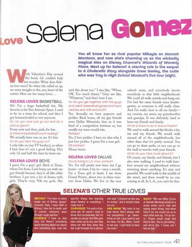 Selena in Girls Life