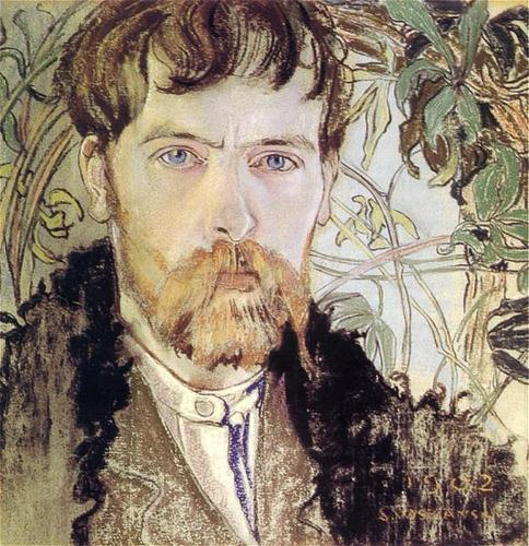 Self-portrait - S.Wyspianski