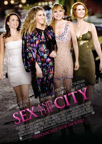 Sex and the City Movie Poster - sex-and-the-city-the-movie Photo