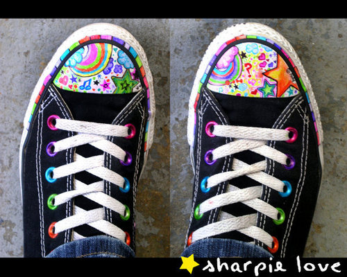 Sharpie + Converse - converse Photo