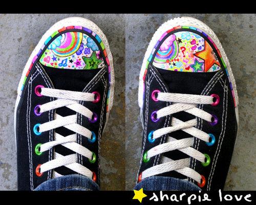 Sharpie + Converse