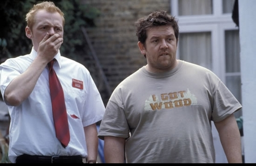 Shaun of the Dead wallpaper called Shaun and Ed