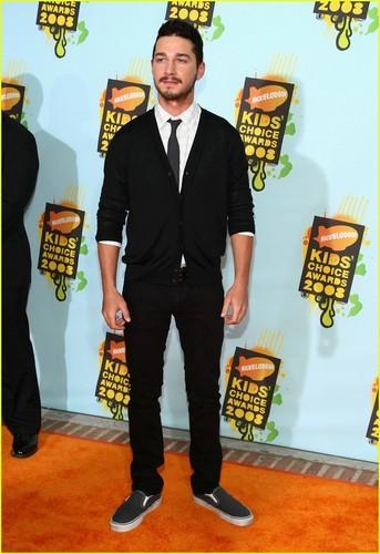 Shia @ Kids Choice Awards