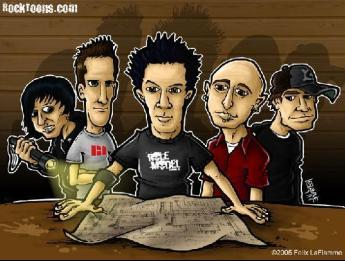 Simple Plan wallpaper containing anime titled Simple Plan
