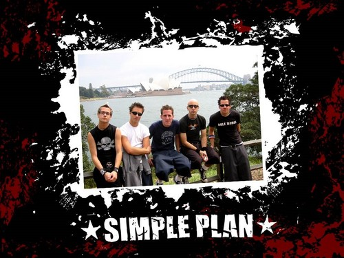 Simple Plan wallpaper containing a street titled Simple Plan