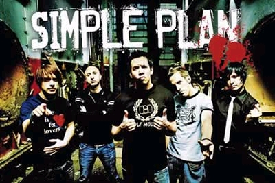 Simple Plan wallpaper probably with a street, a diner, and a sign entitled Simple Plan