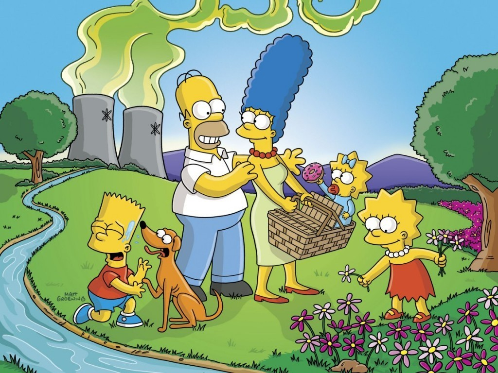 Simpsons Camping - the-simpsons wallpaper