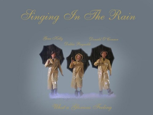 Classic Movies wallpaper probably containing a portrait entitled Singin' in the Rain