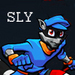 Sly cooper - sly-raccoon icon