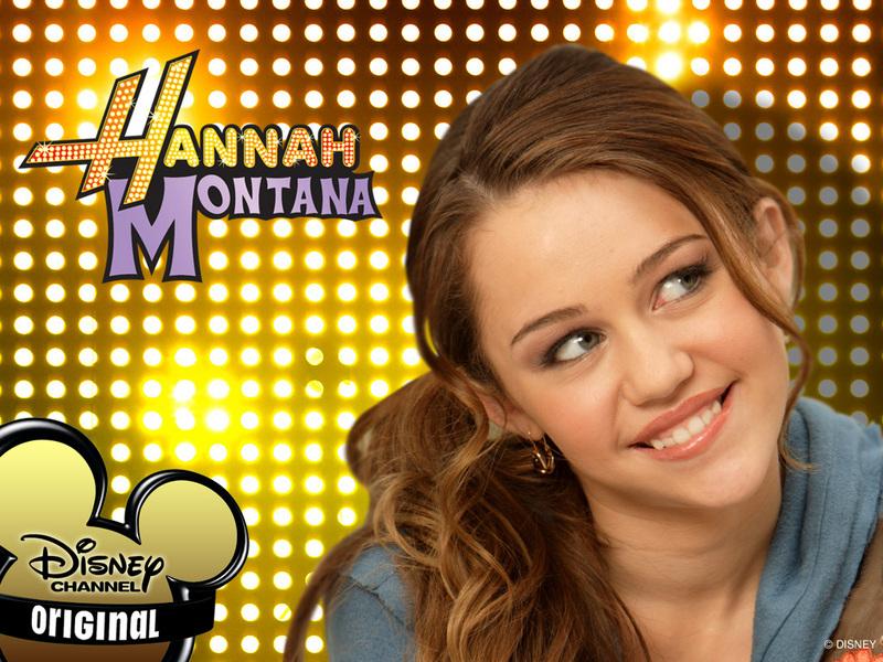 hannah montana wallpaper. Smiley Miley - Hannah Montana