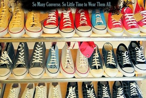 So Many Converse...