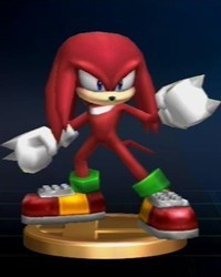 Super Smash Bros. Brawl karatasi la kupamba ukuta called Sonic Series Trophies