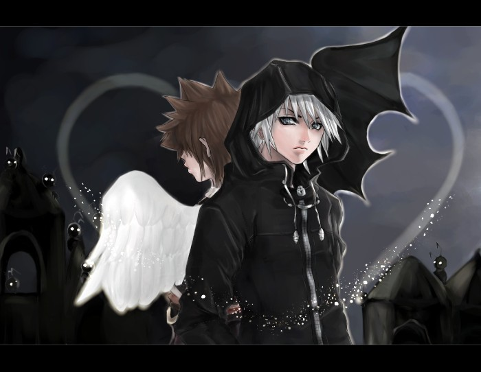Sora and Riku: Back to Back