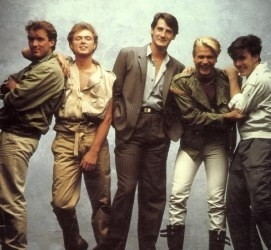 The 80s wallpaper called Spandau Ballet
