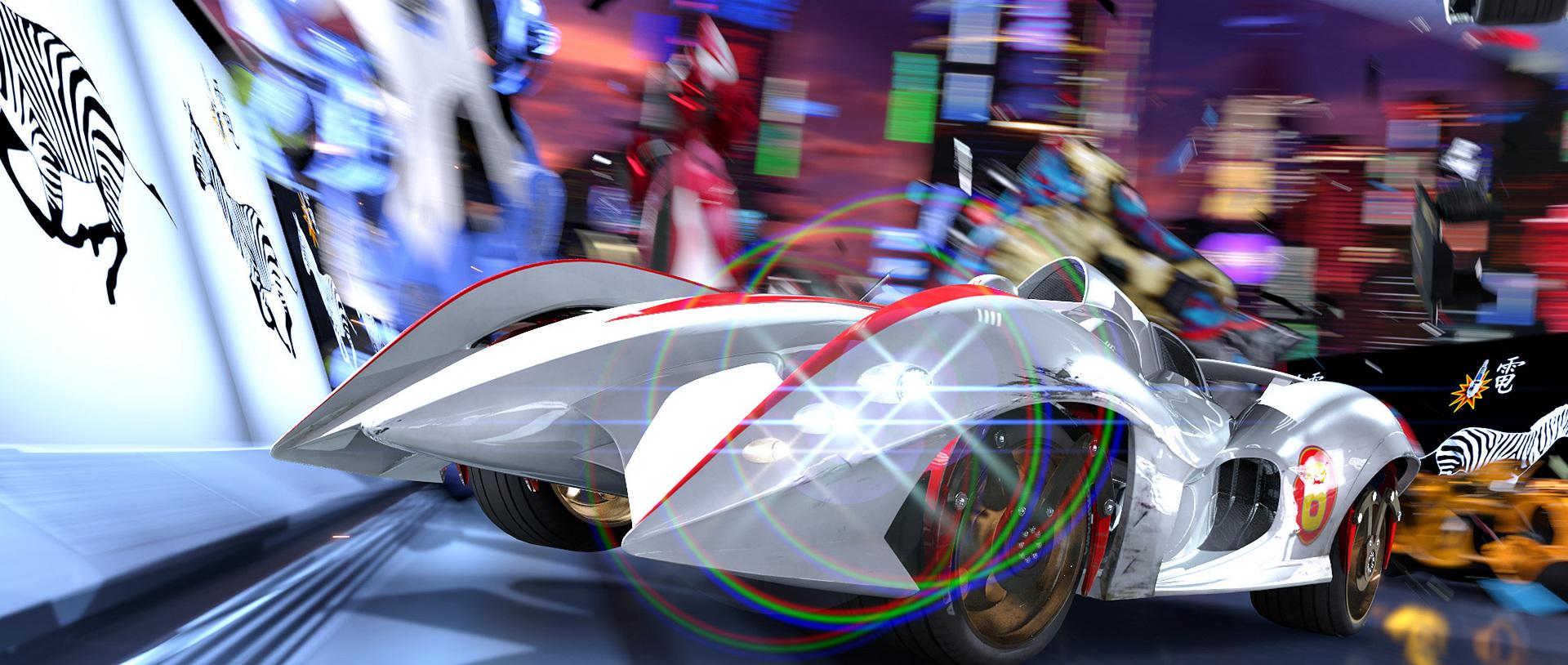 Car Racing Anime Movie