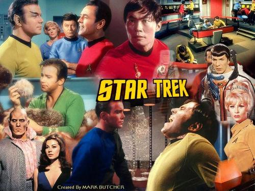 étoile, star Trek fond d'écran