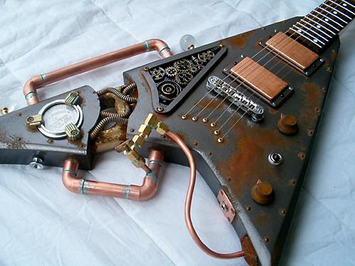 Steampunk گٹار