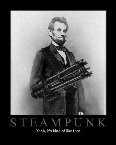 Steampunk Lincoln - steampunk Photo