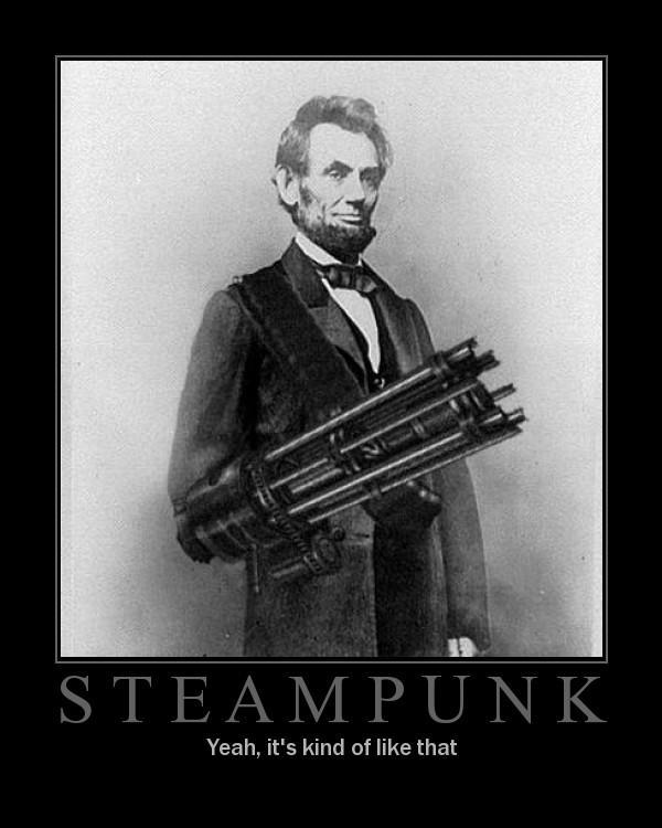 Steampunk Images Steampunk Lincoln HD Wallpaper And