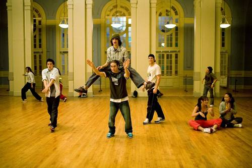 Step Up 2 The Streets wallpaper probably containing a street, a tennis racket, and a tennis player entitled Step Up 2
