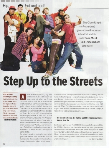 Step Up 2 The Streets wallpaper called Step up 2