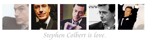 Stephen Colbert wallpaper entitled Stephen is Love