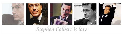 Stephen is 愛