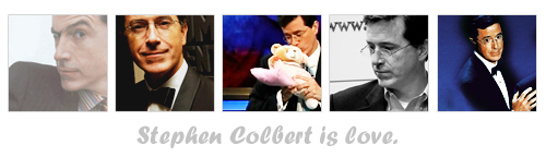Stephen Colbert wallpaper titled Stephen is Love
