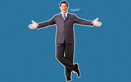 Stephen Colbert wallpaper with a business suit, a suit, and a well dressed person called Stephen