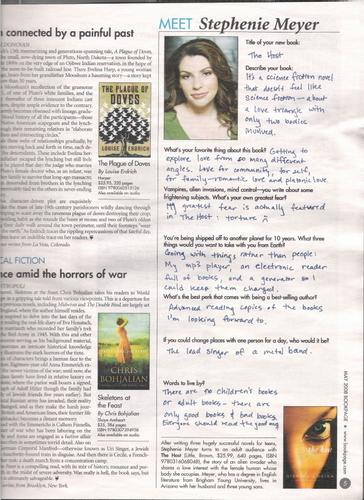 Stephenie Meyer artigo