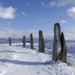 Stone Circle - Brodgar - scotland icon