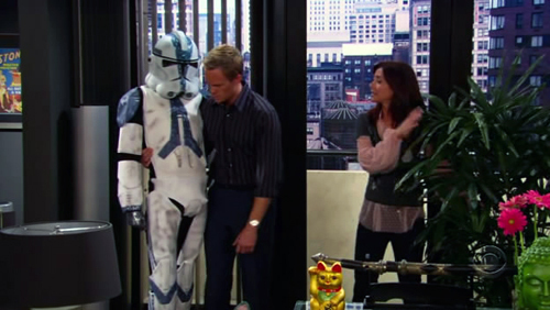 How I Met Your Mother - E alla fine arriva mamma! wallpaper called Stormtrooper