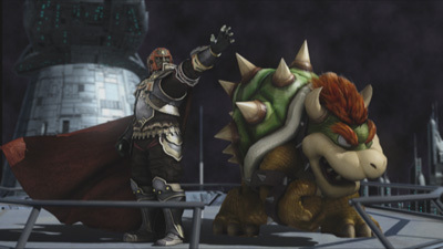 Super Smash Bros. Brawl wolpeyper entitled Subspace Emissary