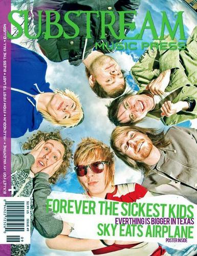 Substream muziki Press Magazine