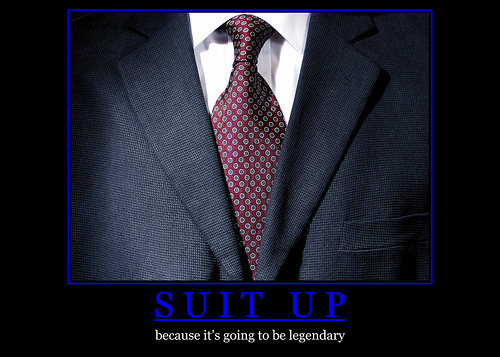 How I Met Your Mother wallpaper probably with a business suit and a suit called Suit Up Poster