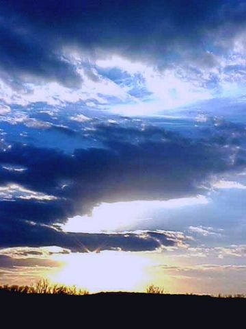 Sunsets and Sunrises wallpaper containing a sunset and a nube, nuvola called Sunrise33