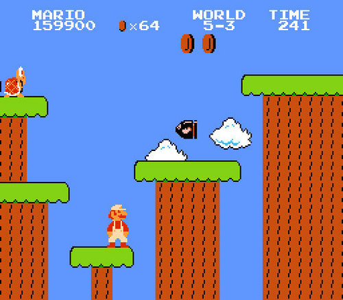 Super Mario Bros. wallpaper containing anime titled Super Mario Bros.