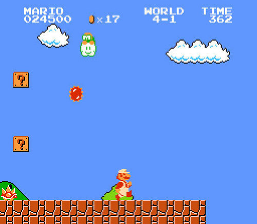 super mario bros wallpaper called Super Mario Bros.
