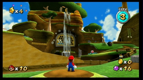 Super Mario Galaxy Screens