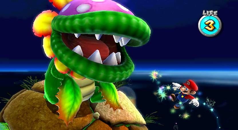 Super Mario Galaxy Screens