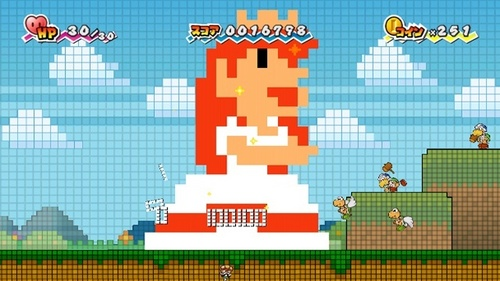 Super Paper Mario Screens
