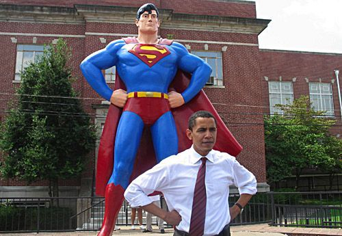 Superman - barack-obama photo