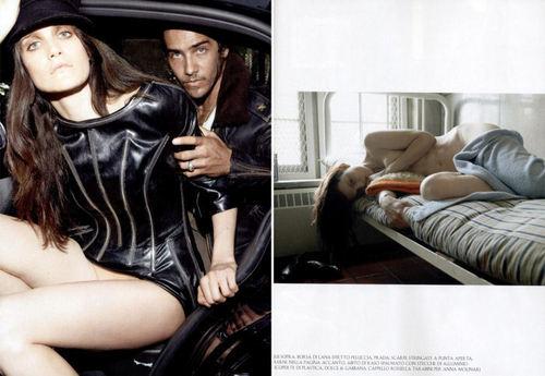 Vogue wallpaper entitled Supermods enter Rehab