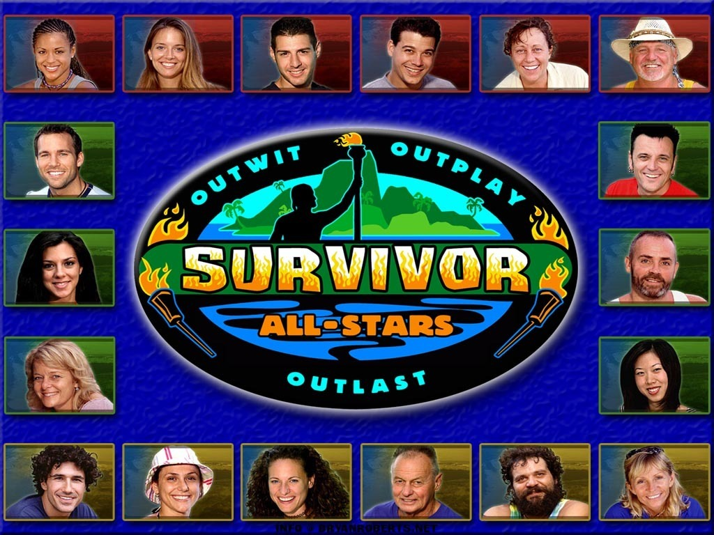 Season 8 Survivor All-Stars