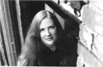 Suzanne Collins black&white